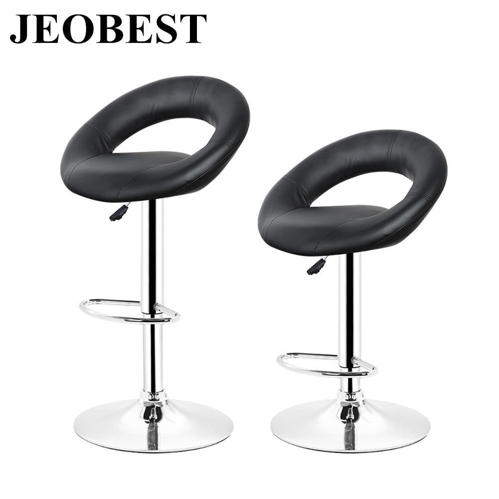 Bar Furniture Bar Chairs Fashion Bar Chair Pu Rotating Stool Lift Bar Chair Flexible Bar Chair Backrest High Stool Cotton And Linen Beauty Stool Bar Consumers First