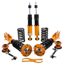 Full Shock Absorber Struts for Ford Mustang 05-14 Coilovers Suspension Convertible Sedan Front Rear Strut Spring(China)