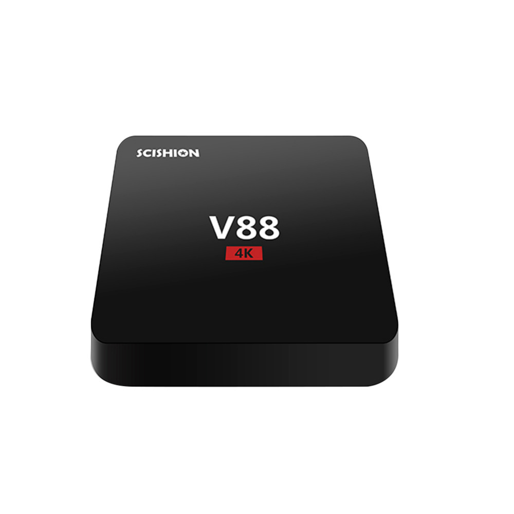 New V88 TV BOX Android tv box Rockchip 3229 Android 5 1 1G 8G WiFi 4K