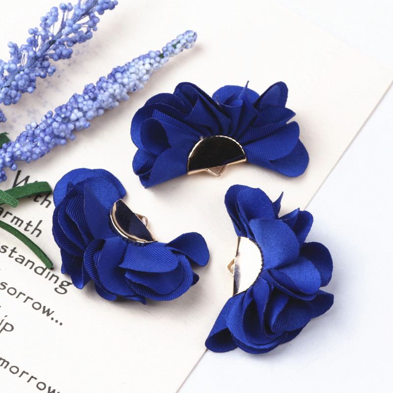 10pcs Mix Colors Cloth Flower Tassel Charms Pendants Supplies Tassels For Earring Necklace Bracelet Making Jewelry Accessories