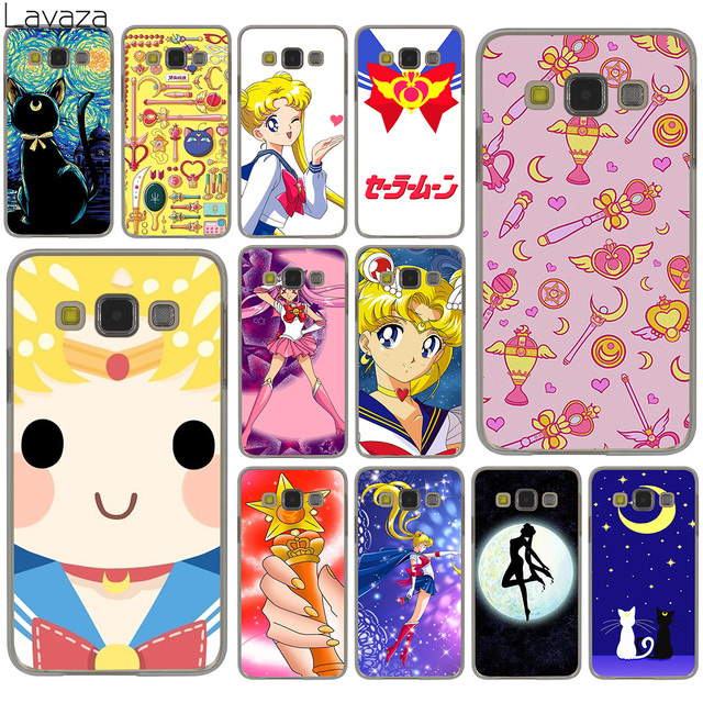 outlet store 16b6d 13bef US $2.55 |Lavaza Sailor Moon Sailor Mercury Lovely Cute Hard Case for  Samsung Galaxy S10 S10E S8 Plus S6 S7 Edge S9 Plus Cover-in Half-wrapped  Case ...