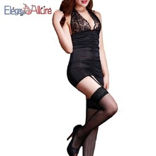 E&A Sexy Lingerie Women Erotic Underwear Summer Dress Lace Baby doll Female Porno Costume Sleepwear Transparent Clothes