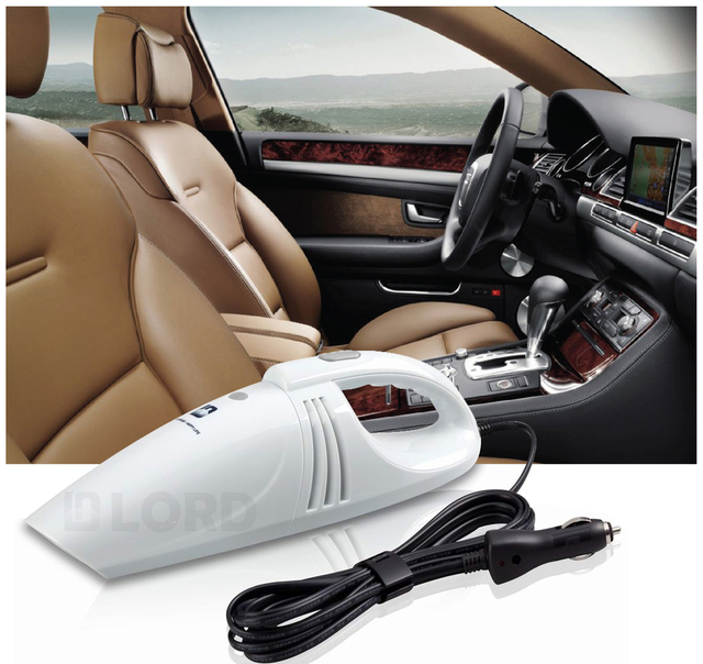 Wet and Dry Mini Auto Vacuum Cleaner