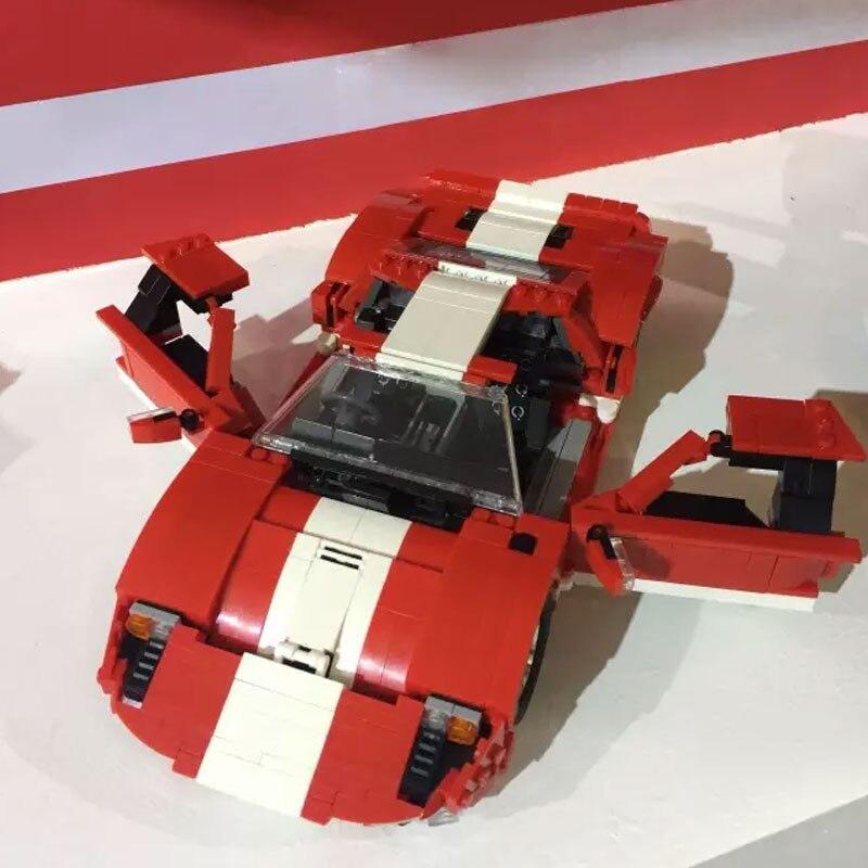 Pravi kreativni MOC Technic serije XingBao 03011 Blok 919Pcs Crveni - Izgradnja igračke - Foto 1