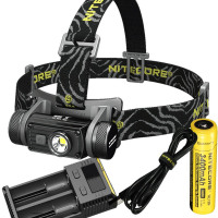 Head Lamp NITECORE HC60 CREE XM L2 U2 max. 1000LM beam Distance 117 meters rechargeable headlight with battery and charger