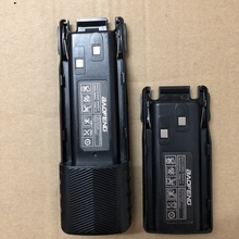 UV 82 بطارية جهاز الاتصال اللاسلكي 2800mAh 3800mAh الجهد 7.4V بطارية ليثيوم أيون ل Baofeng UV 82 بطارية راديو ثنائية المسار UV82 هام راديو