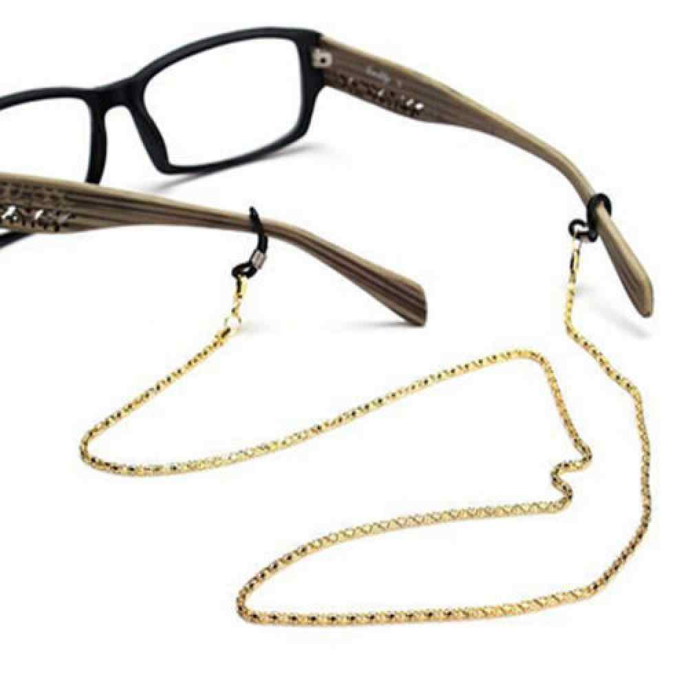 Lunettes de lecture lunettes lunettes porte-lunettes de soleil cou cordon métal sangle chaîne lunettes chaîne cordon accessoires lunettes