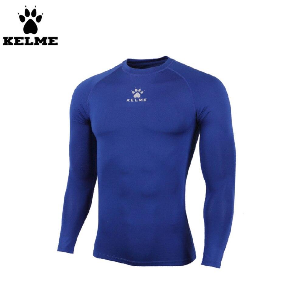 Kelme K15Z734 veste droite à manches longues pour enfants bleu foncé