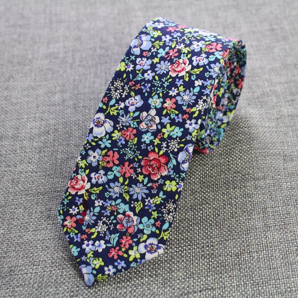 JEMYGINS Erkekler Bağları% 100% Pamuk Erkekler için 6 cm Kravat - Elbise aksesuarları - Fotoğraf 4