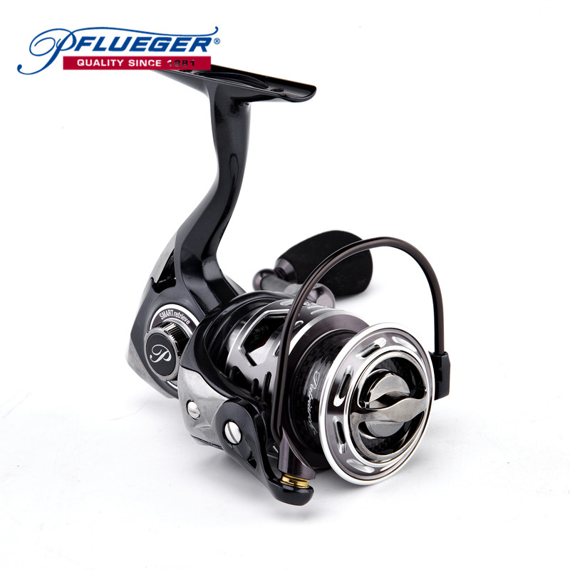 Pflueger PATRTACH Pre-Loading Spinning Reel 9+1BB 5.2:1 Left/Right Hand Fishing Tackle Reel Fishing Accessories Pesca Angler abu garcia revo deez 9 1bb 6 2 1 1000 spinning reel jb top50 professional angler special design freshwater fishing reel tackle