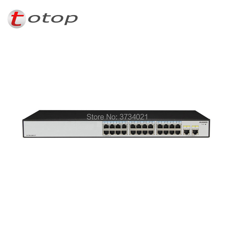 Generous Original And New Hua Wei S1700-26r-2t-ac 10/100 24 Port Switch With 2 Giga Port Switches To Reduce Body Weight And Prolong Life Cellphones & Telecommunications