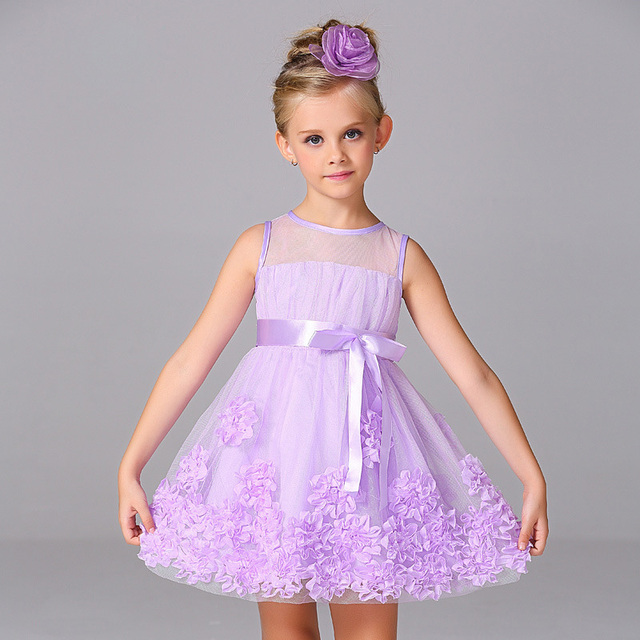 4a6a78f55894 Estate bambini vestiti del bambino vestito dalla ragazza di 10 anni vestito  dal bambino princess beach