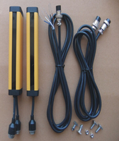 Transistor PNP Normally OPEN 12 Points 20MM Safety Light Curtain Safety Grating Optical Protection Punch Sensor