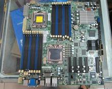 Подержанные оригинальная для tyan S7012 1366 pin dual 4 * NIC 5520/X58 материнская плата (вместо intel s5520hc)