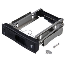 Новое поступление HD313 3.5 дюймов HDD SATA горячей замены внутреннего корпуса mobile rack с замком Прямая доставка