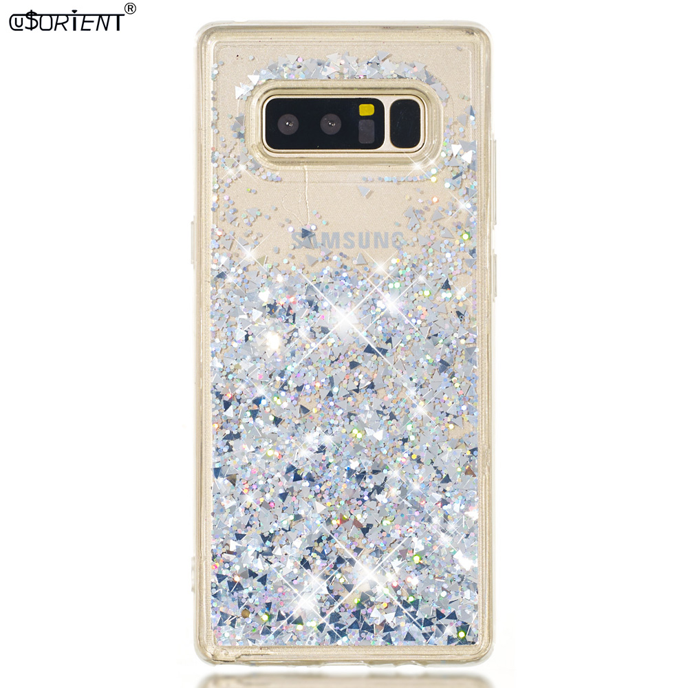 Cellphones & Telecommunications Intellective For Samsung Galaxy Note 8 Note8 Dynamic Liquid Quicksand Case Sm-n950f Sm-n950f/ds Sm-n950u Sm-n950n Soft Silicone Bumper Cover Can Be Repeatedly Remolded. Phone Bags & Cases