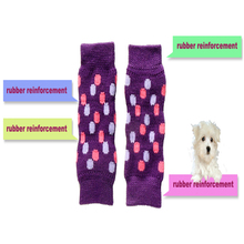 TAILUP 4Pcs/set Elastic Pet Dog Leg Warmer Socks Sleeves Protectors Leopard print Kneepad For Small and Medium Dogs