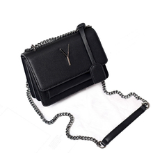 Fashion Y Letter Women Messenger Bags Famous Brand Chain Shoulder Designer Bag With Pendant Double Layer Boxy