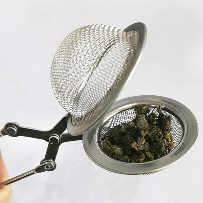 Stainless Steel Kettles Tea Sphere Egg Shape Ball Mesh Infuser Tea Strainer KK