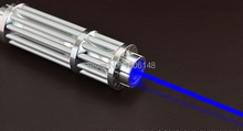 Strong power Military Blue laser pointers 600000m 600W 450nm Burning match dry wood black cigarettes Glasses