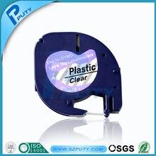 DYMO 12267 LetraTag пластиковая лента черный на Белом этикетки для Dymo этикетки