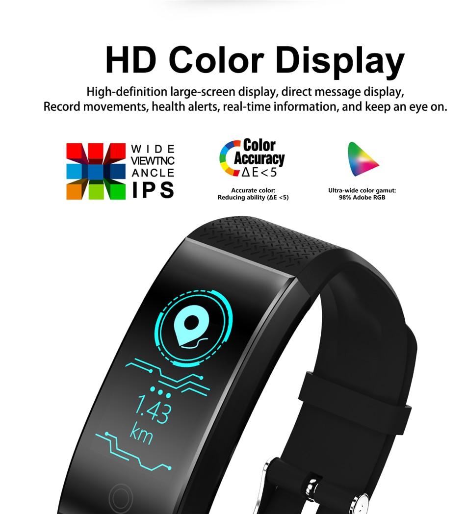 BANGWEI 2018 New Men Smar watch Blood pressure heart rate monitor basketball Fitness Tracker Smart Sport Watch Reloj inteligente 6