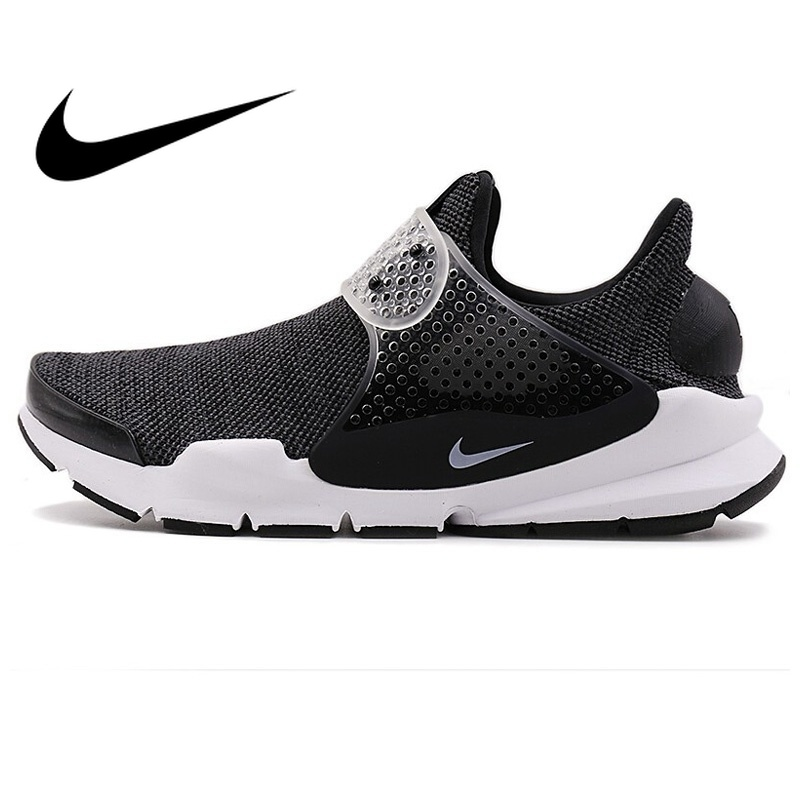 Original NIKE SOCK DART SE Running Shoes Official Slip-on Cushioning Breathable Jogging Sports Shoes Low-cut Sneakers for Men цена