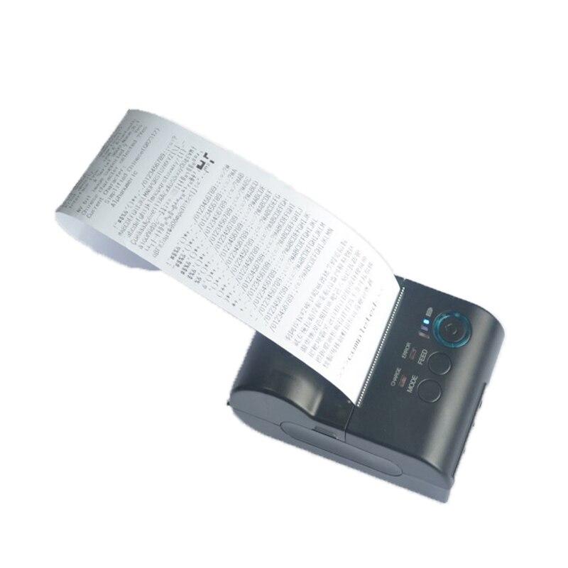 58 мм Портативный rs232 принтер с батареей USB интерфейс Карманный принтер Поддержка нескольких Компьютер печати HS 585BSU - 4