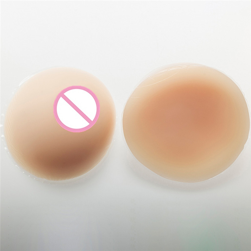 1800g/pair Artificial Silicone Breast Form Crossdressing False Boobs Transgender Bust Cup F цена