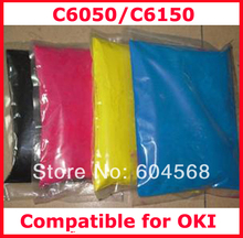 High quality color toner powder compatible for OKI C6050/C6150 Free shipping