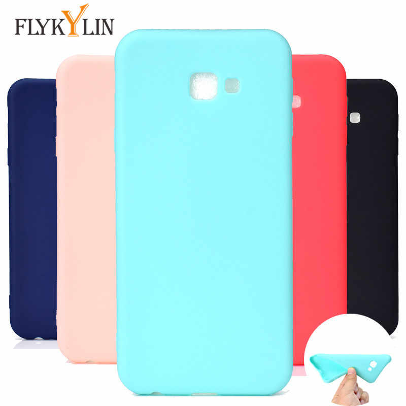 Silicone case on for Samsung Galaxy J4 Plus case Cover For Coque Samsung Galaxy J4 Plus 2018 J415F J415 Soft TPU Phone Case duos