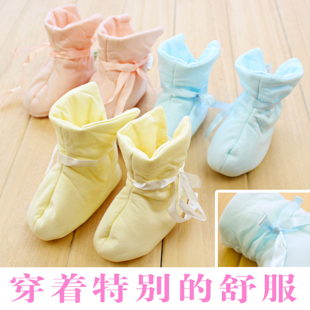 baby cotton-padded shoes baby walkers soft outsole super soft warm boots fashion cotton-padded shoes free shipping