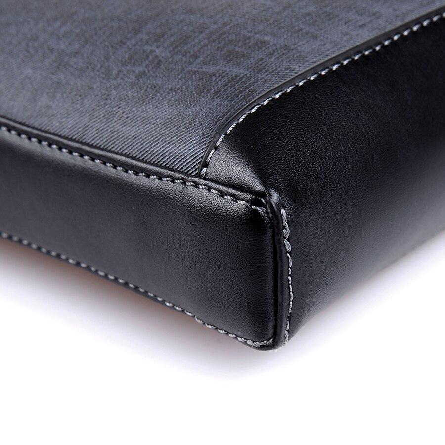 de couro bolsa de ombro Estilo : Business Casual Fashion