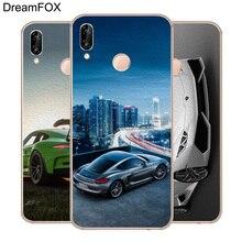 DREAMFOX M294 Super Sports Car Soft TPU Silicone Case Cover For Huawei Honor 6A 6C 6X 7A 7C 7S 7X 8 Lite Pro lp m294