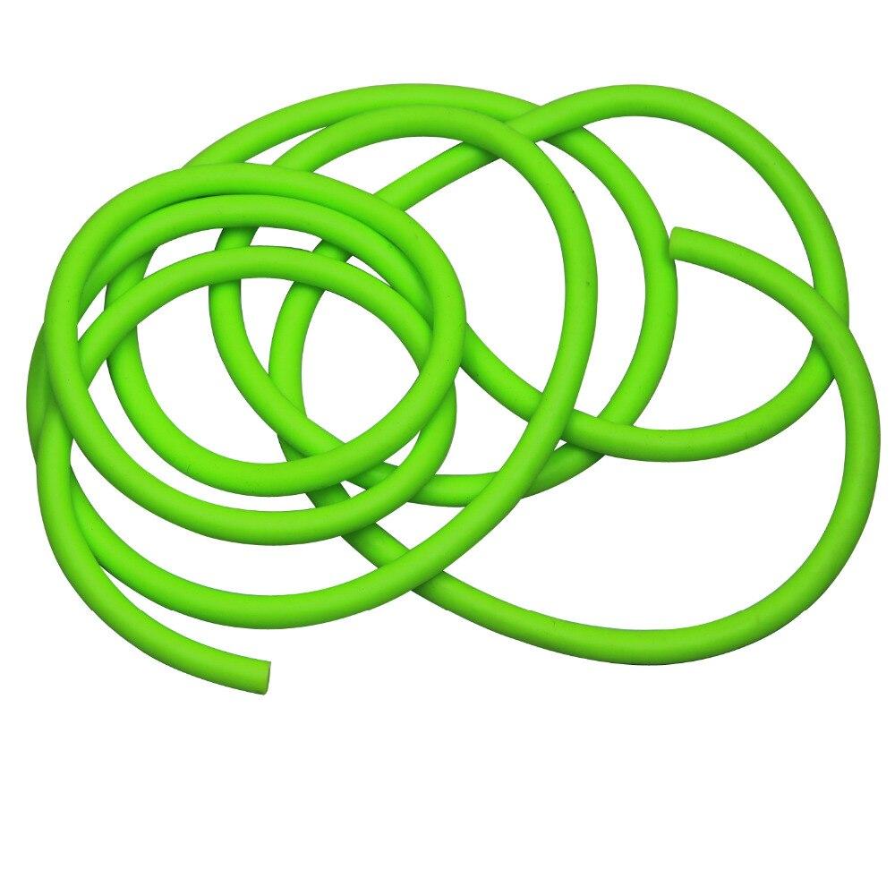 3m elastische multifunktionale Fitness Gürtel Krafttraining grün - Fitness und Bodybuilding - Foto 2