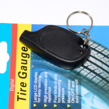 Портативный мини-брелок цифровой ЖК-дисплей 2-150 фунтов/кв. дюйм датчик давления воздуха в шинах Колеса Тестер инструмент для измерения давления в шинах