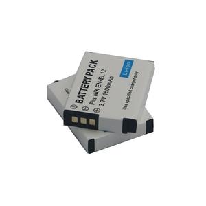 Image 5 - 1500mAh EN EL12 EN EL12 Batterie pour Nikon CoolPix S610 S610c S620 S630 S710 S1000pj P300 P310 P330 S6200 S6300 S9400 S9500 S9200