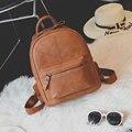 Женская мода кожа PU Рюкзаки Студент Школьные Сумки Для Девочек Подростков Повседневная Школьный Рюкзак Bagpack рюкзак Mochila