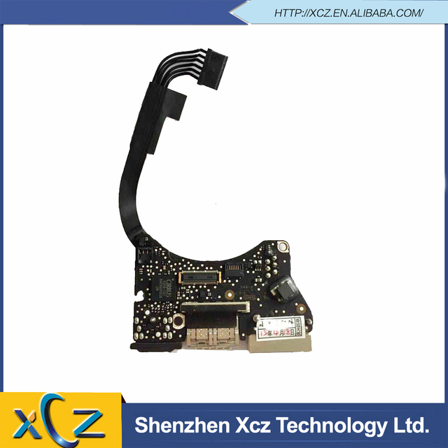 "New  I/O USB/ Power DC Jack Audio Board For MacBook Air 11"" A1465 MagSafe Board 820-3453-A MD711 MD712 2013 Year"
