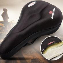 3D Soft Bike Seat Saddle for A Bicycle Cycling Silicone Seat Mat Cushion Seat Cover Saddle Bicycle Bike Accessories цена