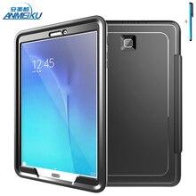 Для Samsung Galaxy Tab E T560 T561 9.6 »Планшетный 3 in1 ПК Тпу Гибридный Стенд Противоударный Прочный Защитный Shell Для Tab 9.6
