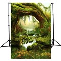 3x5ft Forest Fairy Tale Nature Photography Background For Studio Photo Props vinyl Photographic Backdrops 90x 150cm cloth