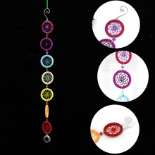Dream Catcher Dreamcatcher 53CM Colorful small ring connected dream net decoration hanging a small gift hanging