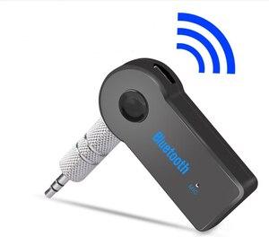 Bluetooth AUX Audio 3.5MM Jack Music Bluetooth Receiver Car Kit for Audi A4 B5 B6 B8 A6 C5 A3 A5 Q5 Q7(China)