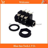 6.5 New good quality Stereophonic, double channel audio socket 1/4