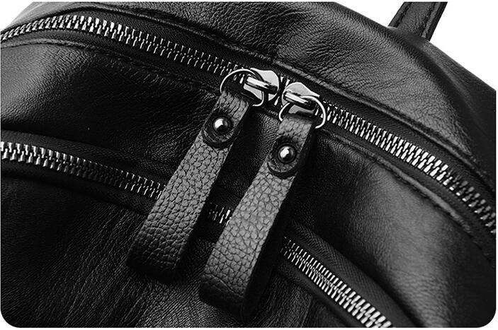 HTB1Ai3TN6DpK1RjSZFrq6y78VXaN On sale New 2019 Women ladies PU Leather small Backpacks for Teenage Girls Female School Shoulder Bag bag pack mochila