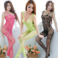 Sexy Costumes Erotic Lingerie mesh underwear lingerie Women Sexy Lingerie Clothing Crotchless Fish net Body suit Body Stocking