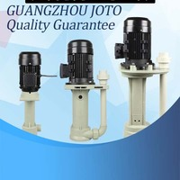 120W Small Acid Proof Engineering Plastics Sewage Pump 2M3/H Big Capacity Submerged Pump