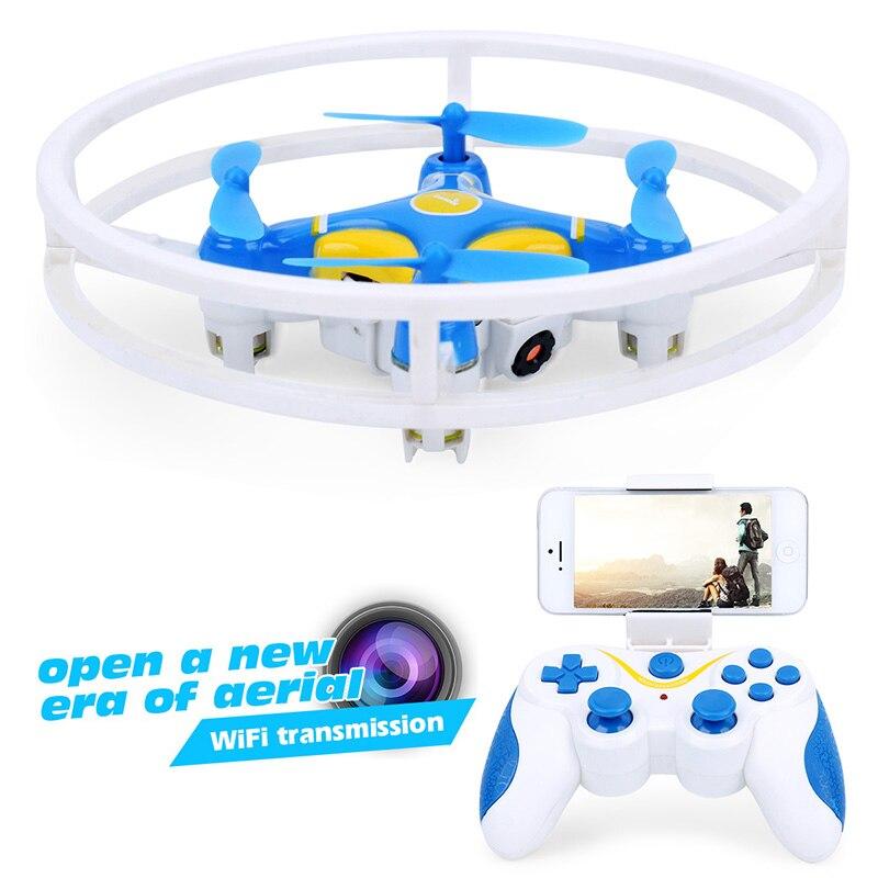 Мини Drone с Камера HD Радиоуправляемый квадрокоптер селфи Дрон 0.3mp FPV-системы Дрон Nano дроны Wi-Fi телефон Управление беспилотники профессиональн...