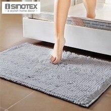 50×80 cm Tamaño Más Grande Suave Shaggy Floor Mat Alfombra Familia Suciedad-resistente a prueba de Agua Baño estera Antideslizante Footcloth Alfombra de Chenilla